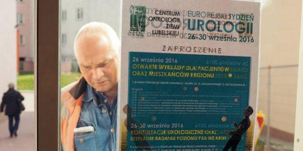 Faceci zaczęli się badać z dr. n. med. Jackiem Niezabitowskim, z oddziału urologii Centrum Onkologii Ziemi Lubelskiej, rozmawia Anna Augustowska