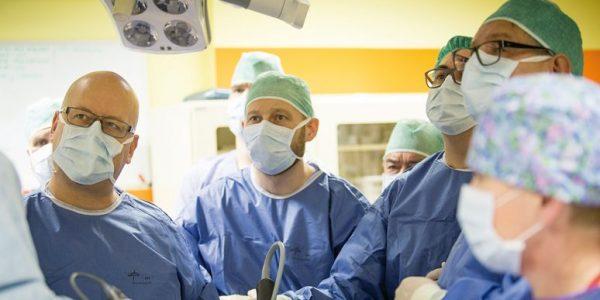 Minimalnie inwazyjne  Nowatorskie operacje w Centrum Onkologii Ziemi Lubelskiej