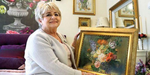 Zaczarowany ogród pastelą malowany z Heleną Marczak-Jaśkiewicz,dentystką, która pasjonuje się malarstwem,rozmawia Anna Augustowska