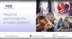 Jak poradzić sobie w czasie epidemii koronawirusa? Skorzystaj ze wsparcia psychologicznego