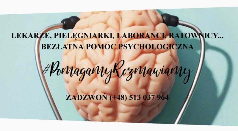 """Pomoc psychologiczna """"Pomagamy Rozmawiamy"""""""
