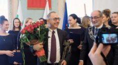 Okulista z Włoch – honorowym obywatelem Lublina