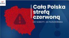 Cała Polska w czerwonej strefie