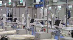 Szpital tymczasowy zaczyna wakacje