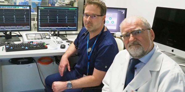 Rozruszać serce Andrzej Wysokiński: Jednym zpierwszych pacjentów był 66‑letni mężczyzna, któremu zpowodu całkowitego bloku przedsionkowo‑komorowego wszczepiliśmy urządzenie gwarantujące stałą stymulację serca.