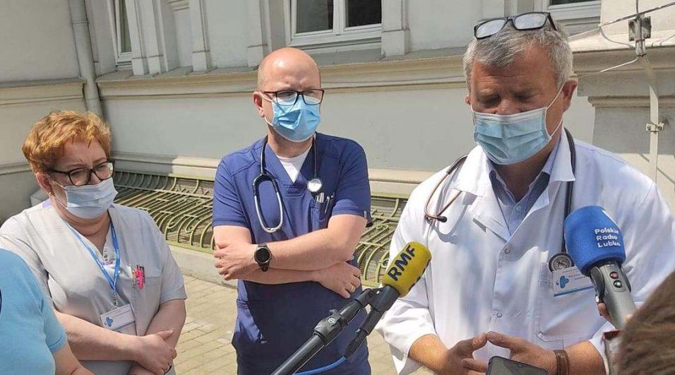 prof. Marek Hus, dr n. med. Dorota Hawrylecka, dr n. med. Tomasz Gromek